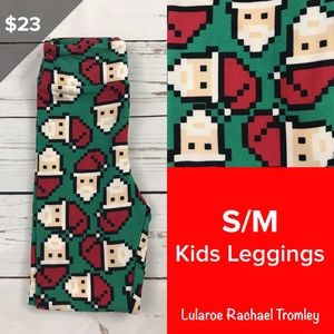 Kids Christmas Leggings S/M Lularoe